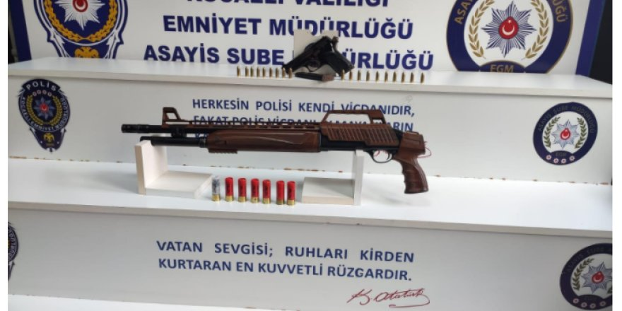 Kocaeli'de balkonda ki vatandaşı vuran şahıslar yakalandı