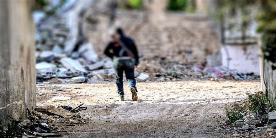 İran Devrim Muhafızları Ordusu ve emrindeki teröristlerden İdlib'deki cephe hattına takviye