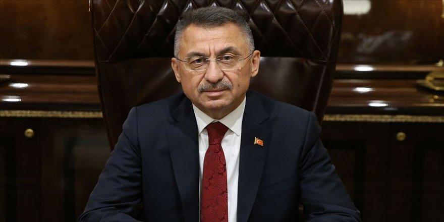Cumhurbaşkanı Yardımcısı Oktay KKTC Cumhurbaşkanı seçilen Ersin Tatar'ın yemin törenine katılacak