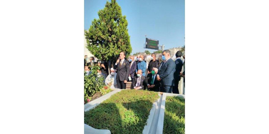Hatice Nermin Erbakan mezarı başında anıldı