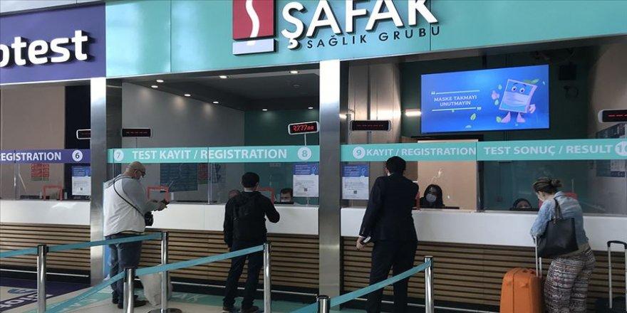İstanbul Havalimanı Kovid-19 test merkezinden 141 bin 811 yolcu hizmet aldı