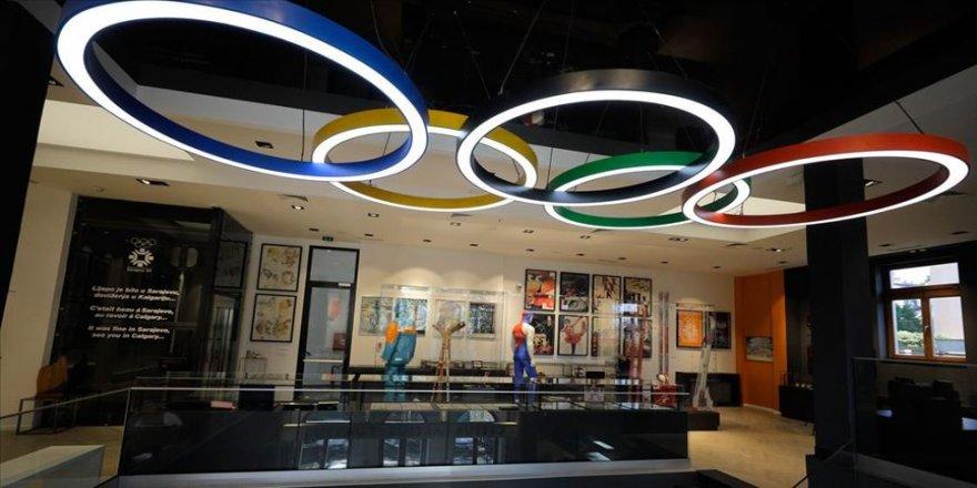 Saraybosna'nın 'sporu sanatla buluşturan' Olimpiyat Müzesi küllerinden yeniden doğdu