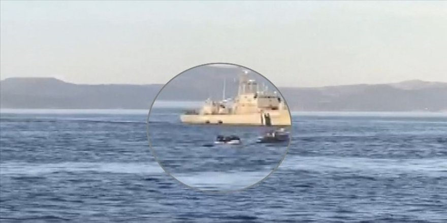 Alman Spiegel dergisi: Frontex Yunanistan'ın mültecileri açık denize geri itmesine destek verdi