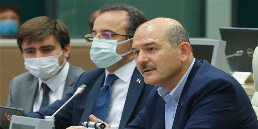 İçişleri Bakanı Soylu: '(ABD Büyükelçiliğinin güvenlik uyarısı) Yadırgatıcı bir davranıştır'