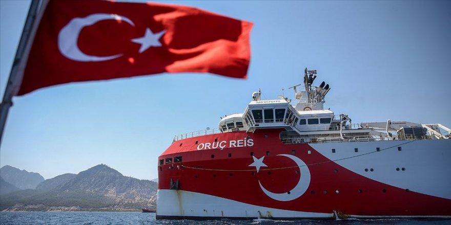 Geminin bölgedeki sismik araştırma çalışmaları 4 Kasım'a uzatıldı.