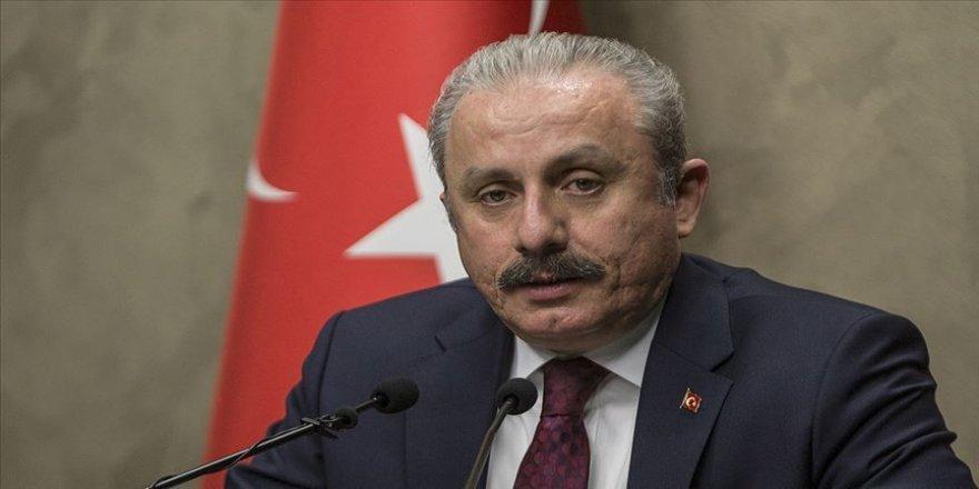 TBMM Başkanı Mustafa Şentop: Türkiye teröre ve yandaşlarına asla geçit vermeyecek