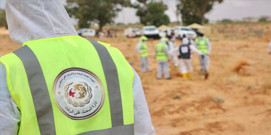 Libya'nın Terhune kentinde toplu mezarlarda 12 cesede daha ulaşıldı