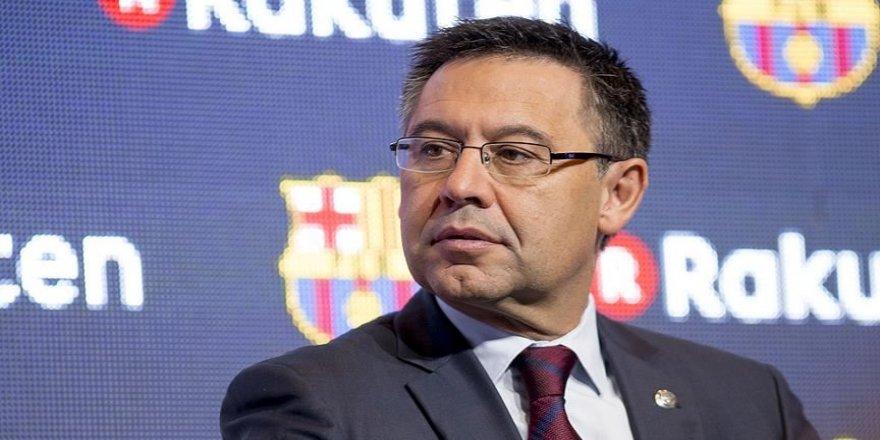 Barcelona'da kulüp başkanı ve yönetim kurulu istifa etti