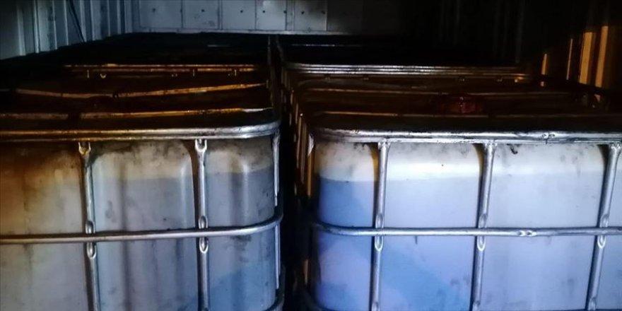 Niğde'de 6 bin litre kaçak akaryakıt ele geçirildi