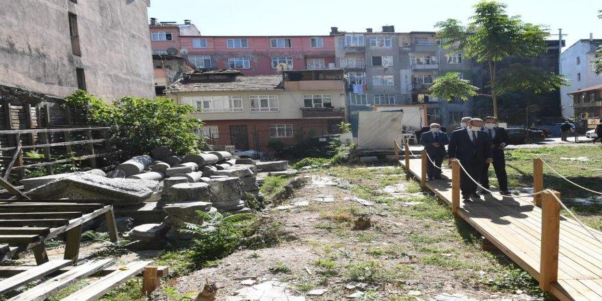 """""""Çukurbağ Arkeoloji Projesi"""" finale kaldı"""