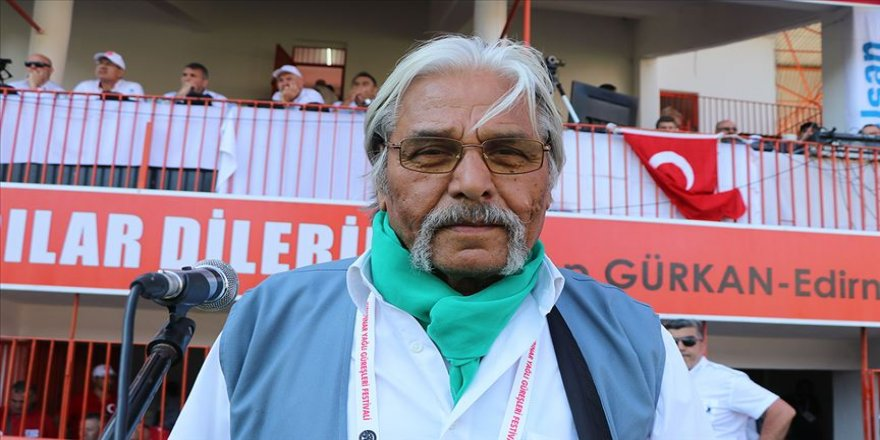 Koronavirüse yakalanan Kırkpınar başcazgırı 'Pele Mehmet' yaşamını yitirdi