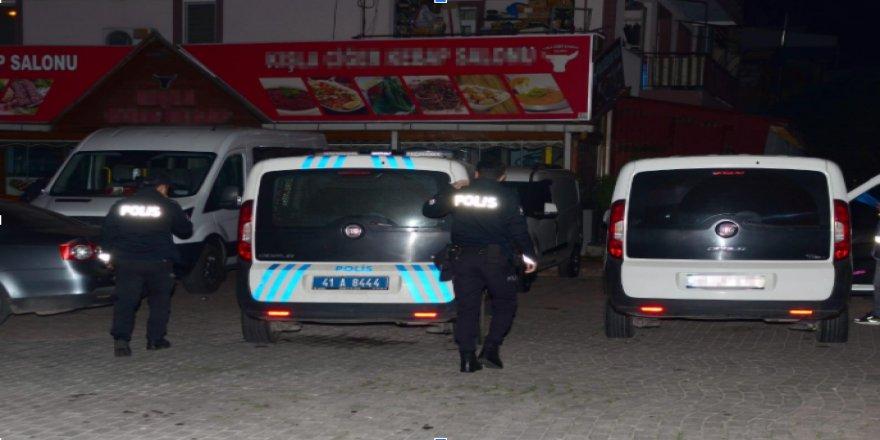 Kocaeli'de yapılan operasyonda 21 kişi tutuklandı