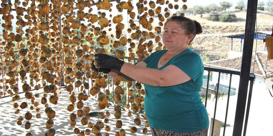 İzmirli kadın girişimci cennet hurması kurutarak ihracata başladı