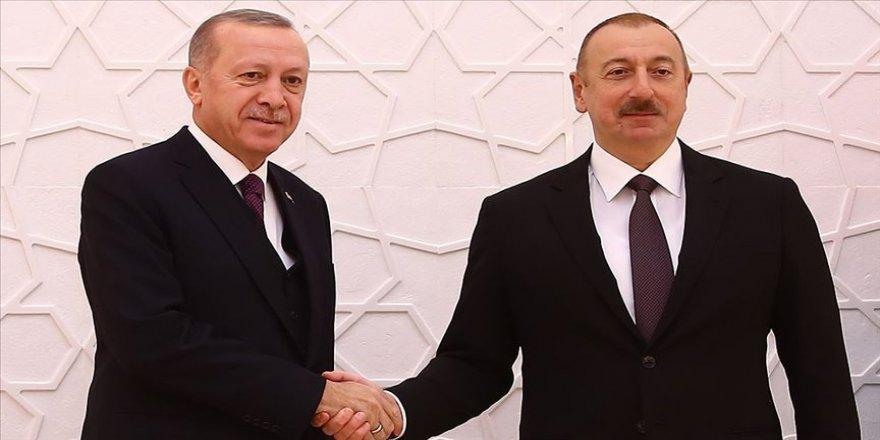Aliyev, Erdoğan'ı arayarak 29 Ekim Cumhuriyet Bayramı'nı kutladı