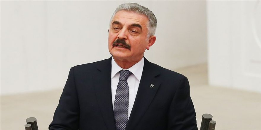 MHP'li Büyükataman'dan Ahmet Davutoğlu'na tepki: Büyük Türk milleti ihanete pirim vermeyecek