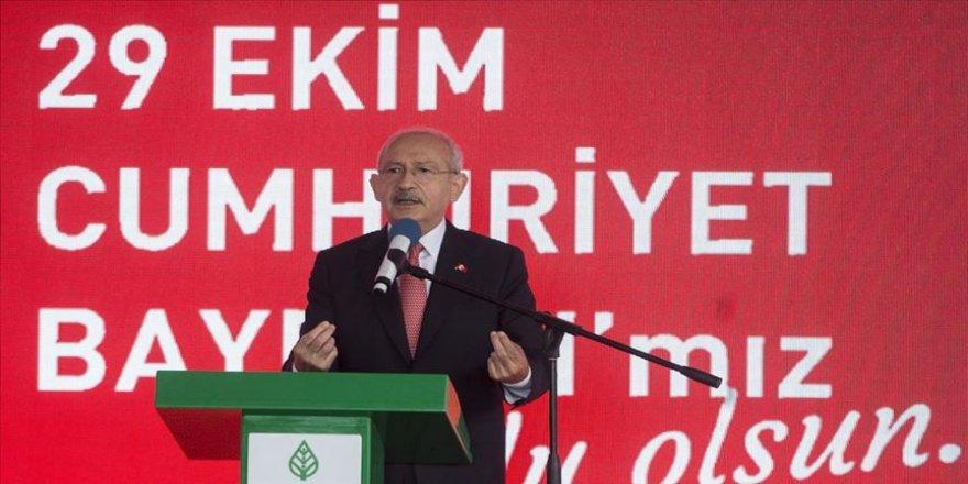 CHP Genel Başkanı Kılıçdaroğlu: Türkiye Cumhuriyeti Devleti bütün bu olumsuzlukları aşacaktır