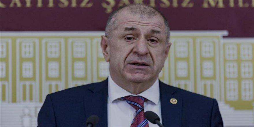 İYİ Parti İstanbul Milletvekili Özdağ Disiplin Kuruluna sevk edildi