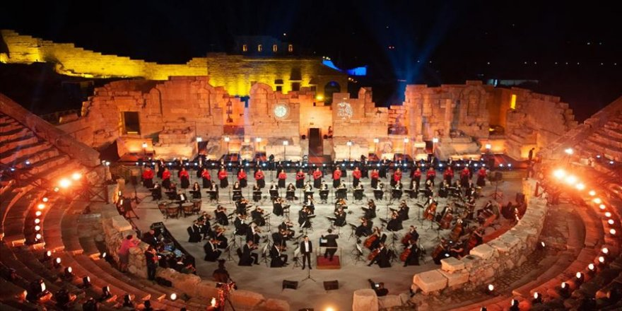 Patara Antik Kenti'nde Büyük Cumhuriyet Konseri düzenlendi