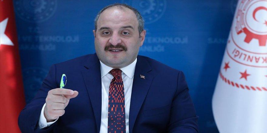 Sanayi ve Teknoloji Bakanı Varank: Pandemide Türk sanayisi kendini ispatladı
