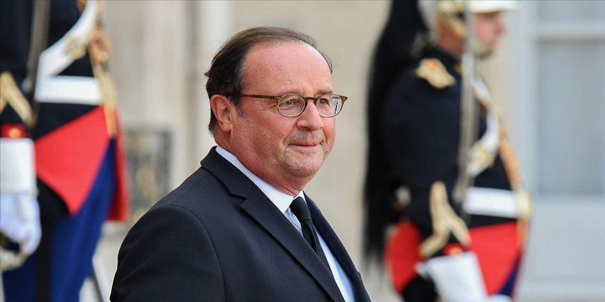 Fransa'nın eski Cumhurbaşkanı Hollande'den 'Müslümanlarla teröristleri bir tutmayalım' mesajı
