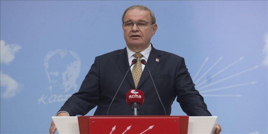 CHP Sözcüsü Faik Öztrak: Ülke devalüasyon sarmalına girdi