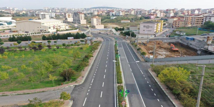 Çayırova'daki caddelerin çehresi değişti