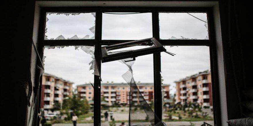 Sığınaklarda yaşayan Terter sakinleri hayati tehlikeye rağmen kenti terk etmiyor