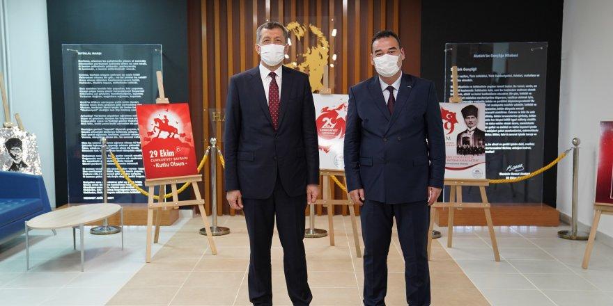 Milli Eğitim Bakanı Ziya Selçuk, GEBKİM MTAL'yi de ziyaret etti