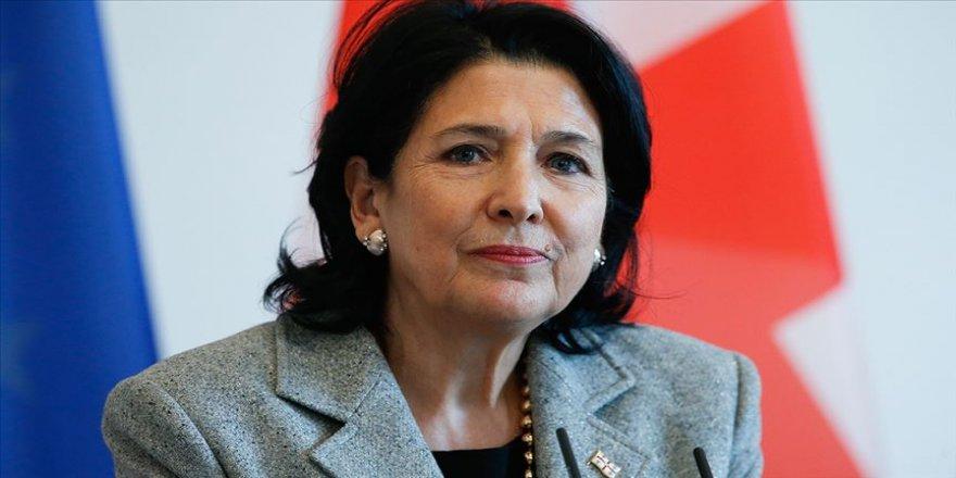 Gürcistan Cumhurbaşkanı Zurabişvili'den Türkiye'ye başsağlığı mesajı