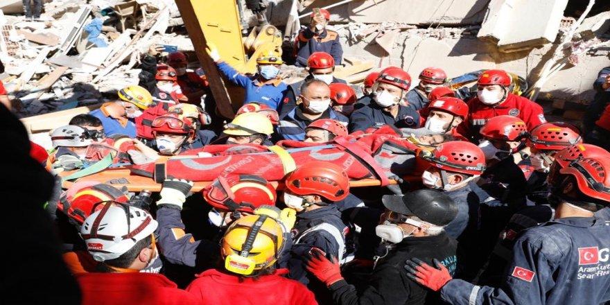 İBB arama kurtarma ekipleri çalışmalarını sürdürüyor