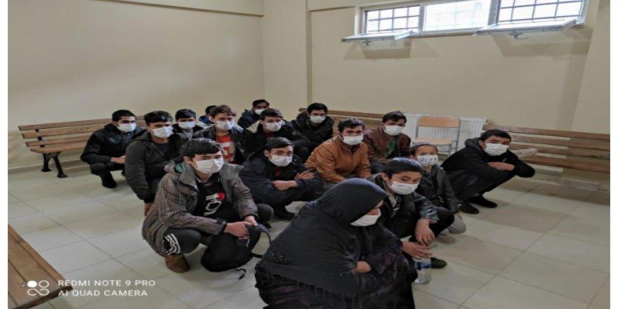 Kocaeli'de düzensiz göçmenler yakalandı