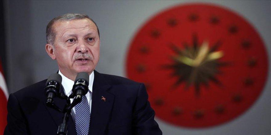 Cumhurbaşkanı Erdoğan: Önümüzdeki dönem içinde yine tek dayanağımız milletimizdir