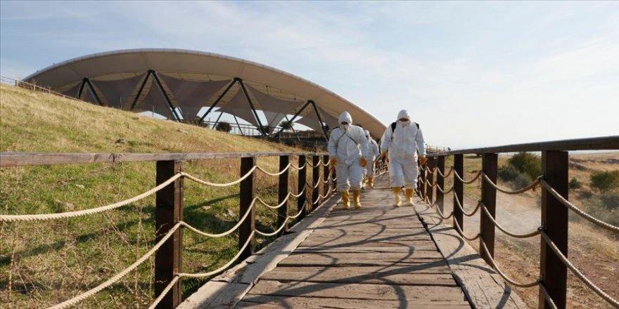 Tarihin sıfır noktası 'Göbeklitepe' dezenfekte edildi