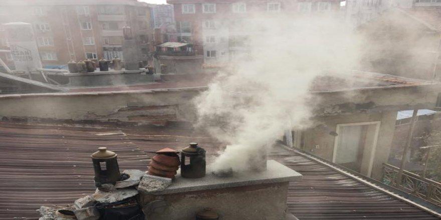 Gebze'de baca yangını