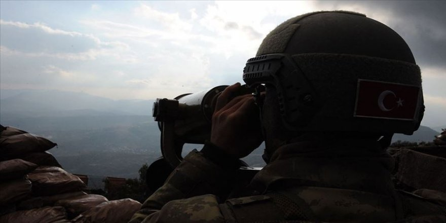 Van'da jandarmanın ikna çalışmaları sonucu bir terörist teslim oldu