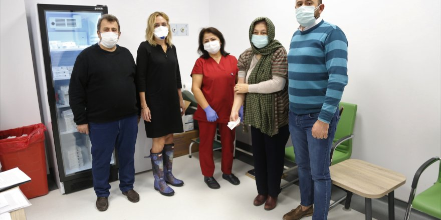 Kocaeli'de Çin aşısına yoğun ilgi