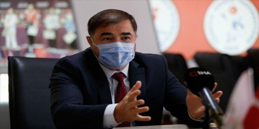 Türkiye Güreş Federasyonu Başkanı Musa Aydın'ın Kovid-19 testi pozitif çıktı