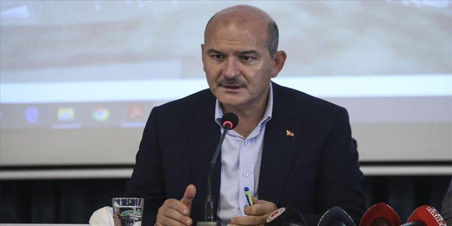 İçişleri Bakanı Soylu başkanlığında 'Koronavirüs Değerlendirme' toplantısı yapıldı