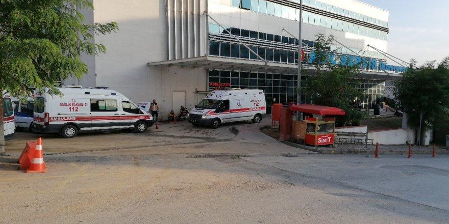 Gebze'de Trafik Kazası motosiklet sürücüsü yaralandı