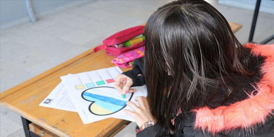 Dezavantajlı çocukların kalbine 'güneş' gibi dokunan proje