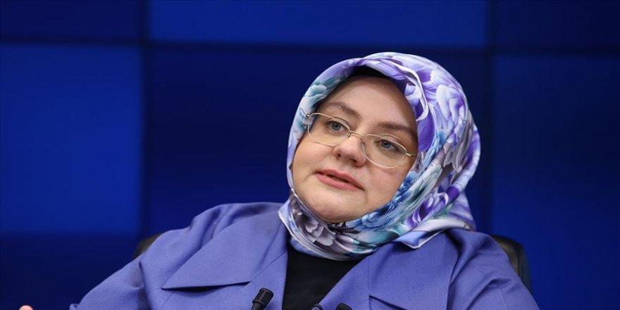 Aile, Çalışma ve Sosyal Hizmetler Bakanı Selçuk: Her daim diyoruz ki kadına şiddet insanlığa ihanettir