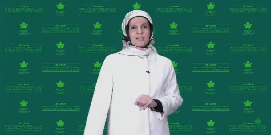 Gelecek Partisi'nden kadına yönelik şiddete karşı anlamlı kampanya