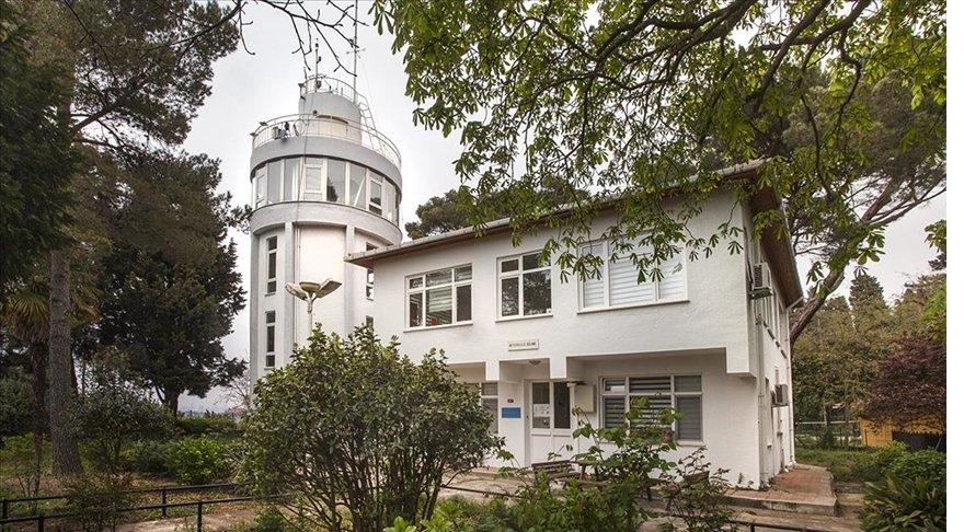 İstanbul'daki meteoroloji laboratuvarı 'asırlık istasyon' olarak tescillendi