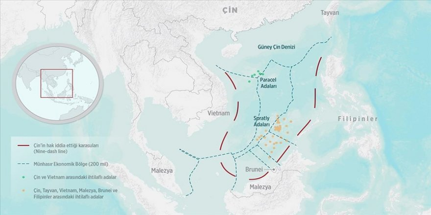 Güney Çin Denizi'nde Malezya-Çin gerilimi
