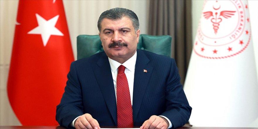 Sağlık Bakanı Koca'dan 'zorunlu karantina' paylaşımı