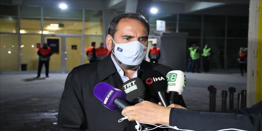 Sivasspor Kulübü Başkanı Mecnun Otyakmaz: Önemli olan 3 puanı alıp gruptan çıkmak için şansımızı devam ettirmekti