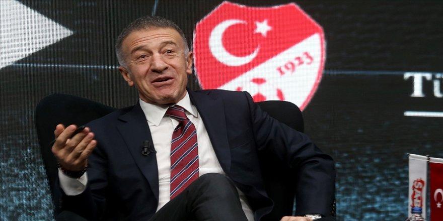 Trabzonspor Başkanı Ağaoğlu: Borçları aşağı çekmemizdeki en önemli etken 2 yıl içinde 42 milyon avroluk oyuncu satmamız
