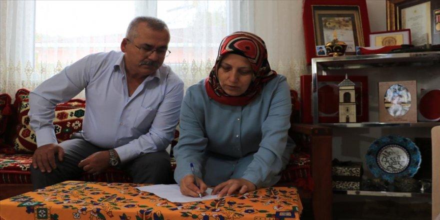 'Can Azerbaycan'a mektup' kampanyasına ilk mektup şehit ailesinden
