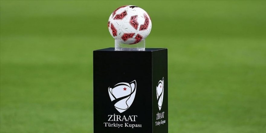 Ziraat Türkiye Kupası'nda 5. eleme turunun kura çekimi yapıldı