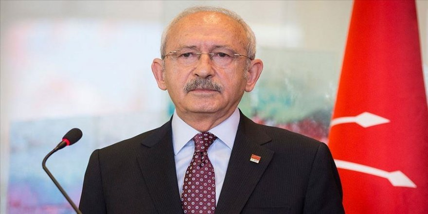 Kılıçdaroğlu'ndan, Ahmet Davutoğlu'na 'geçmiş olsun' telefonu